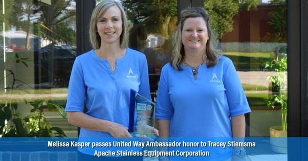 United Way Ambassadors: Melissa Kasper and Tracey Stiemsma