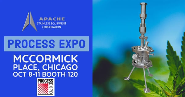 Apache Showcasing Small Vessels at Process Expo, Booth #120