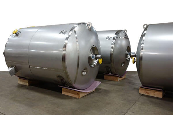 Sanitary Pharmaceutical ASME Stainless Tanks and Vessels