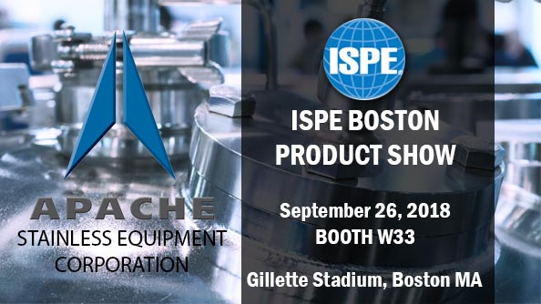 Apache at ISPE Boston Booth W33