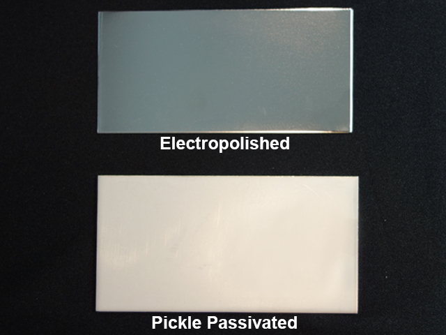 pickle passivation and electropolishing difference