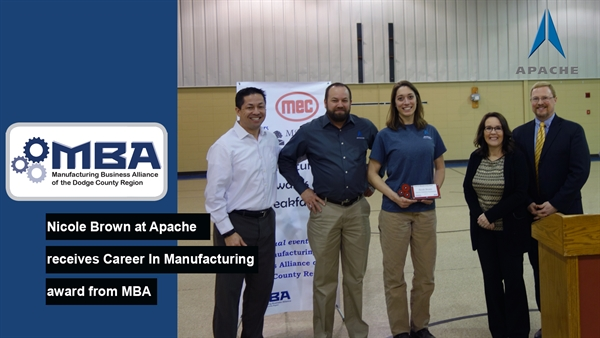 Manufacturing Business Alliance of Dodge County Hosts Annual Awards Ceremony