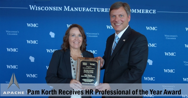 HR Professional of the Year goes to Apache's Pam Korth